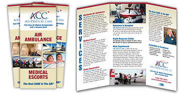 air critical care brochure