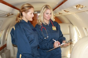 Nurse Air Transportation